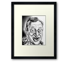 Rodney Dangerfield Caricature Framed Print