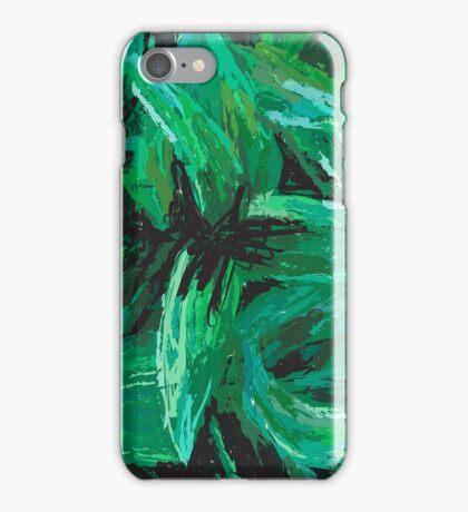 Green Wilder iPhone Case/Skin