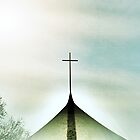 Church Cross by artbybutterfly