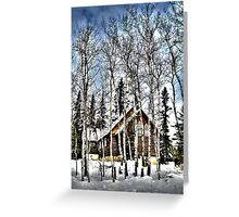 St. Christopher Church - Winter Greeting Card