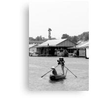 Row, row, row your boat... Canvas Print