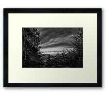 ©MS El Cerro The Hill IA Monochromatic Framed Print