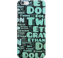 Dolan Twins word collage iPhone Case/Skin
