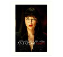 American Mary Black Swan Style Poster Art Print