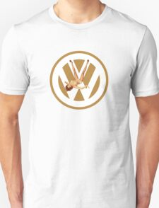 Volkswagen Pin-up (yella) T-Shirt