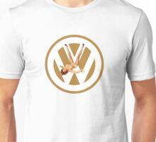 Volkswagen Pin-up (yella) Unisex T-Shirt