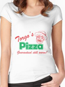 Torgo's Pizza Women's Fitted Scoop T-Shirt