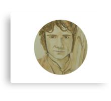Bilbo Baggins Watercolour Canvas Print