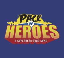 Pack Of Heroes Logo by JohnDC