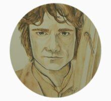 Bilbo Baggins Watercolour by libby95