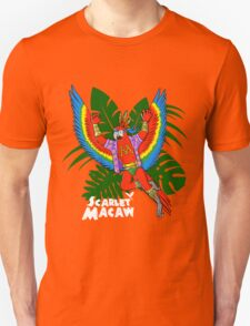Scarlet Macaw - Pack Of Hereos T-Shirt
