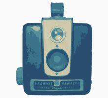 Classic Hawkeye Camera Design in Blue by strayfoto