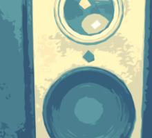 Classic Hawkeye Camera Design in Blue Sticker