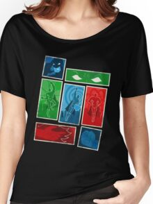 Power Cards - Pack Of Heroes Women's Relaxed Fit T-Shirt