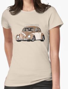 Cal Style Bug Womens Fitted T-Shirt