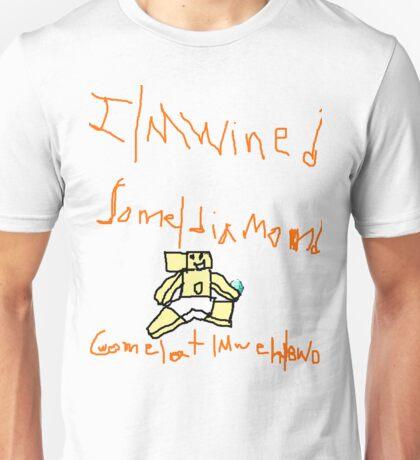 Cwome a mweh bwo - Minecraft Unisex T-Shirt
