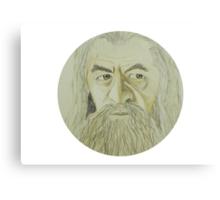 Gandalf Watercolour Canvas Print