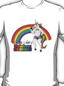 Rainbow Sprinkle - Pack Of Heroes T-Shirt
