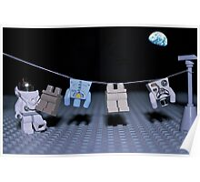 Lunar Laundry Day Poster