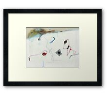 Sometimes you just have to accept things the way they are. Framed Print