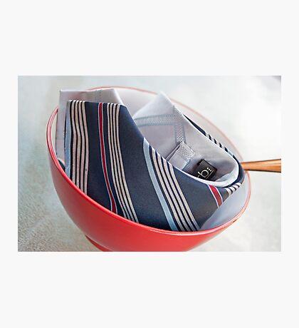 Tie Food Photographic Print