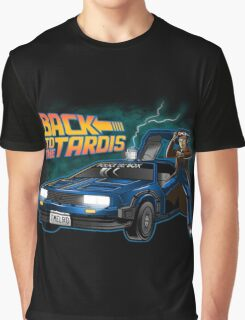 Back To The Tardis (Dottor Who) Graphic T-Shirt
