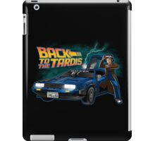 Back To The Tardis (Dottor Who) iPad Case/Skin