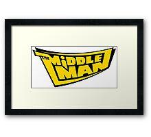 The Middleman Framed Print