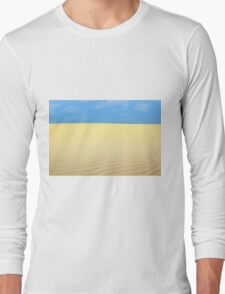 desert landscape Long Sleeve T-Shirt