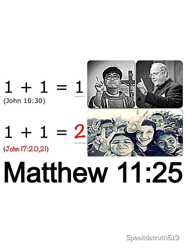 Matthew 11:25 by Speakdatruth619