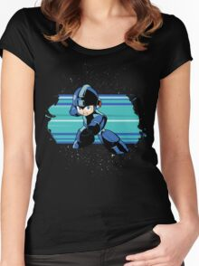 Megaman the Hero of 200x and 20xx Women's Fitted Scoop T-Shirt