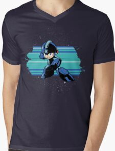 Megaman the Hero of 200x and 20xx Mens V-Neck T-Shirt