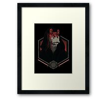 Darth Darth Binks Framed Print