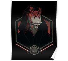 Darth Darth Binks Poster