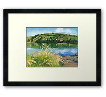 Dawn over Akaroa Harbour Framed Print