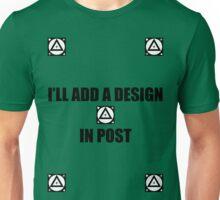 I'll add a design in post... Unisex T-Shirt