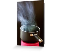 Smoking Pot Greeting Card