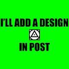 I'll add a design in post... by MACamacho