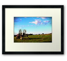 Another workday Framed Print