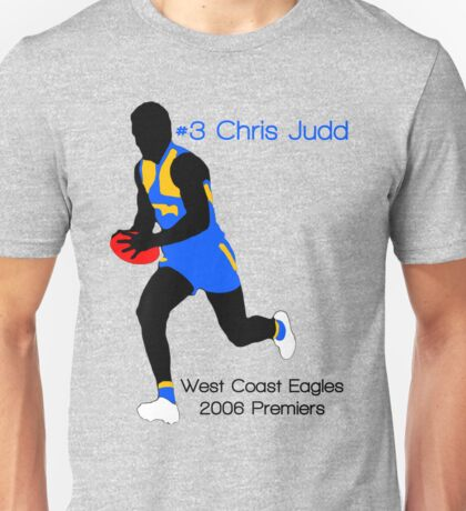 Chris Judd West Coast Eagles Unisex T-Shirt