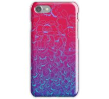 Abstract Skull Column iPhone Case/Skin