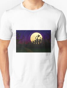 Halloween Fence Unisex T-Shirt