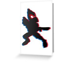 Falco 3D - Super Smash Bros. Greeting Card