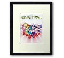 The Sailor Ponies Are Here! Framed Print