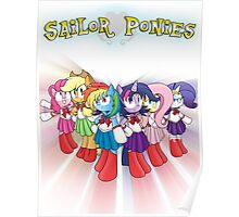 The Sailor Ponies Are Here! Poster