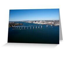 Mission Bay, San Diego Greeting Card