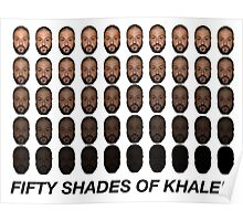 SHADES OF KHALED Poster