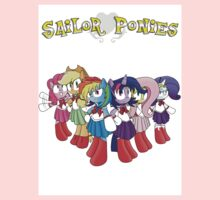 The Sailor Ponies Are Here! Kids Tee