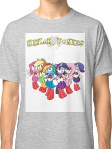 The Sailor Ponies Are Here! Classic T-Shirt