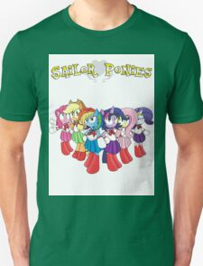 The Sailor Ponies Are Here! T-Shirt